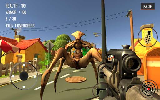 Monster Killing City Shooting III Trigger Strike 1.0.1 screenshots 1