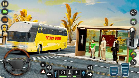 Modern Bus Simulator Drive 3D: New Bus Games Free 5