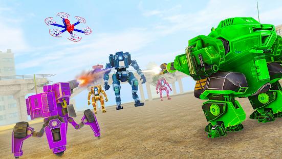 Grand Tornado Robot Car Transform: War Robot Games 1.3.5 Screenshots 8