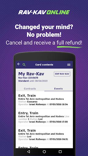 Rav-Kav Online - Rav-Kav Loading  Screenshots 7