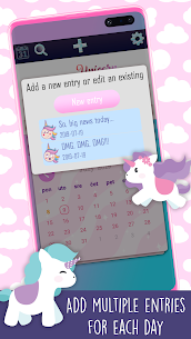 Unicorn Diary With Lock 6