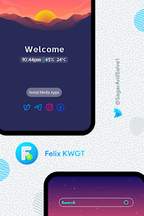 Felix KWGT 9.0.5 Apk 1