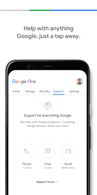 Google One screenshot 4