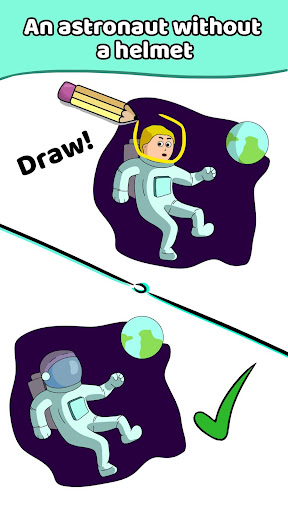 Draw a Line: Tricky Brain Test modavailable screenshots 6