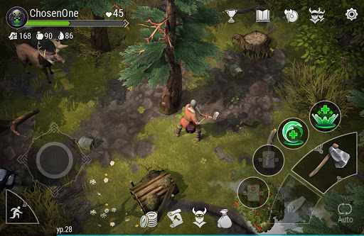 Frostborn: Coop Survival apktram screenshots 1