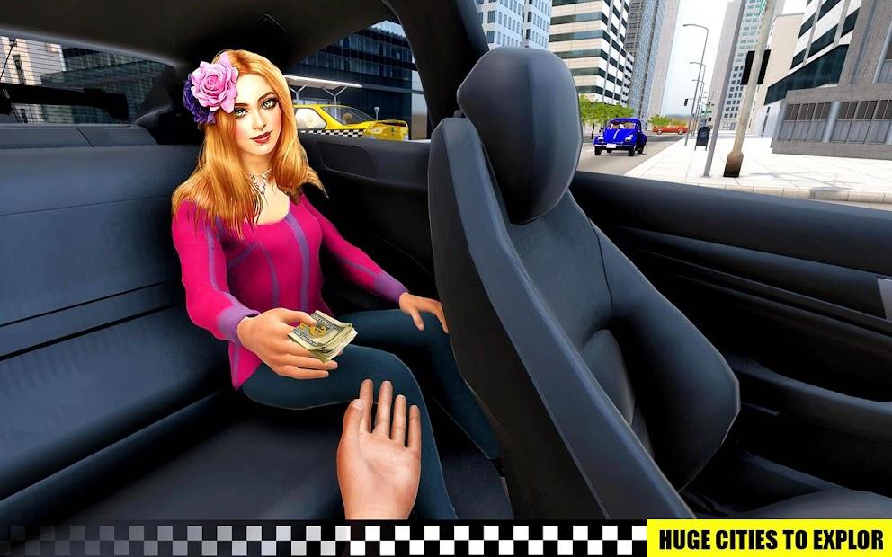 Captura de Pantalla 15 de simulador de aparcamiento de taxis 3D de varias para android