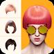 ヘアスタイルシミュレーション - 髪型シュミレーション & ヘアカラーシュミレーター