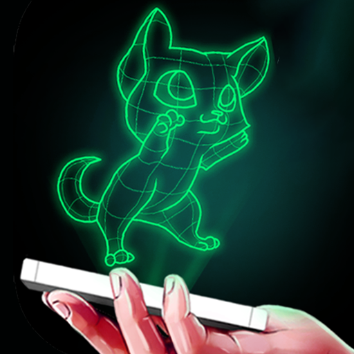 Neo: Hologram Laser Camera Simulator