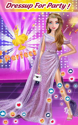 Super fashion model- Makeup & Dress up game 1.1.4 screenshots 1