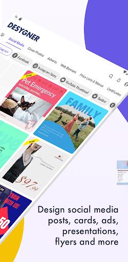 Desygner: Free Graphic Design Maker & Editor android2mod screenshots 18