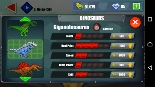 Jurassic Dinosaur: City rampage 2.5 screenshots 2
