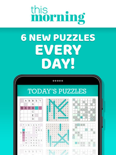 This Morning ud83cudf1e Puzzle Time ud83dudcc6 Daily Puzzles 4.3 screenshots 9