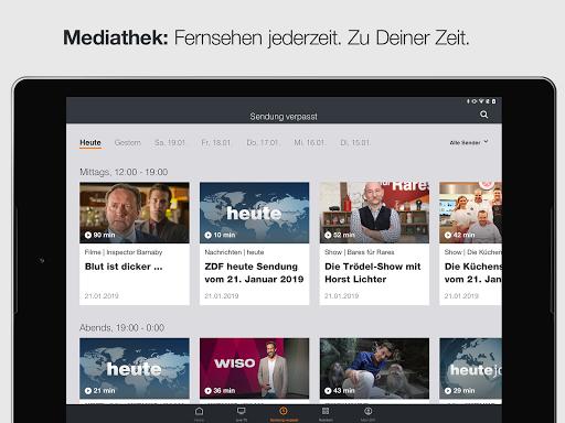 ZDFmediathek & Live TV  screenshots 11