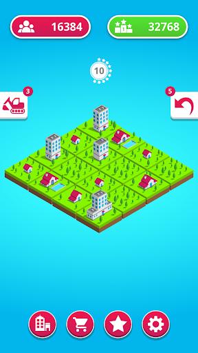 town merge: 2048 city builder screenshot 2