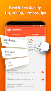 Screen Recorder, Video Recorder, V Recorder Lite