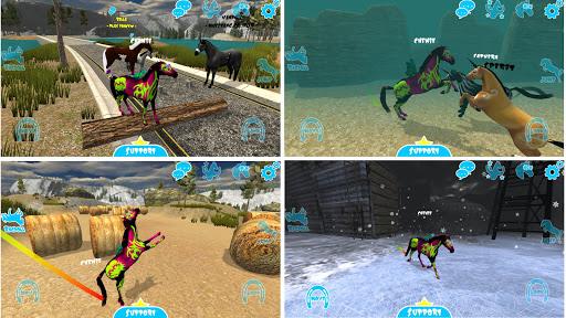 hill cliff horse - online screenshot 1