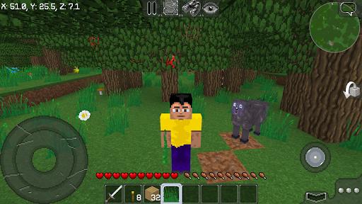 Code Triche MultiCraft ― Build and Mine! 👍 (Astuce) APK MOD screenshots 3