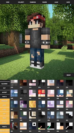 Custom Skin Creator For Minecraft apktram screenshots 5