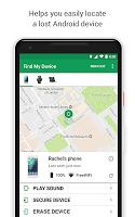 screenshot of Google Find My Device