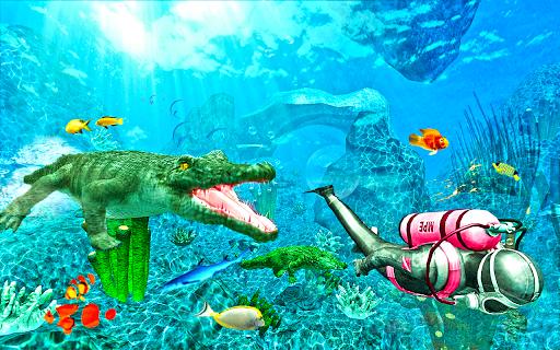 Hungry Crocodile Simulator Attack 2.1 screenshots 1