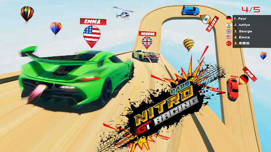 Nitro Cars gt Racing Airborne Apkfinish screenshots 1