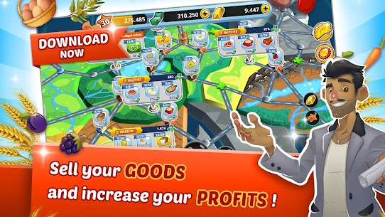 Food World Tycoon MOD Apk (Unlimited Money) Download 4