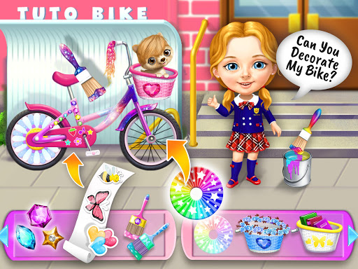 Sweet Baby Girl Cleanup 6 - School Cleaning Game android2mod screenshots 18