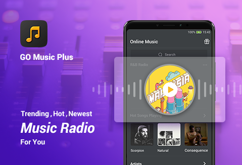 GO Music Player Plus - Free Music, Radio, MP3 2.4.4 com.jb.go.musicplayer.mp3player apkmod.id 1