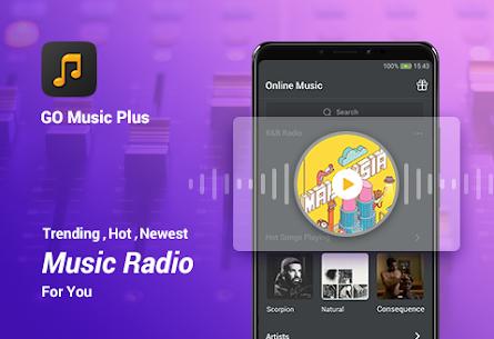 GO Music Player Plus MOD APK (Unlocked) 1