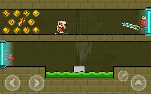 Red Stickman : Animation vs Stickman Fighting android2mod screenshots 14