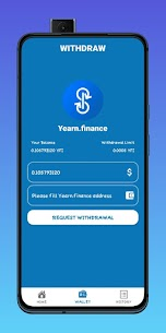 YFI Miner – Yearn.Finance (YFI) Cloud Mining For Android 2