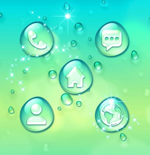 Water Drops Theme  Screenshots 4