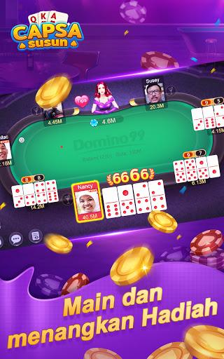 Capsa Susun Online:Domino Gaple Poker Free  screenshots 3