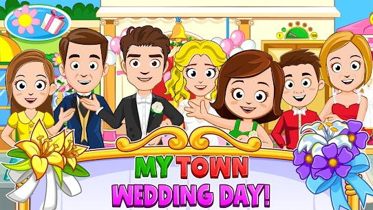 My Town : Wedding Bride Game for Girls Free (MOD, Unlimited Money) For Android 1