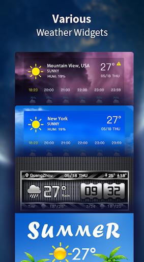 Weather Forecast - Live Weather Alert & Widget 1.13 Screenshots 4