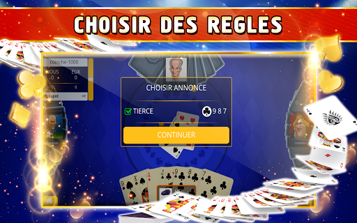Coinche Offline - Single Player Card Game  screenshots 8