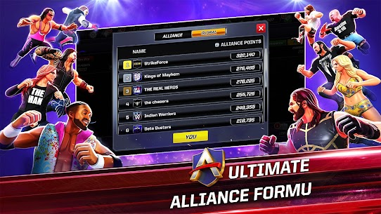 WWE Mayhem Mod Apk + Unlimited Gold/Cash v1.39.144 1