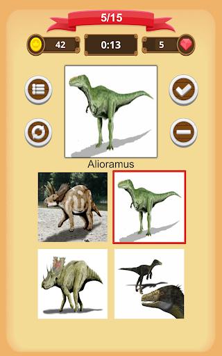 Dinosaurs Quiz 1.9.0 screenshots 16