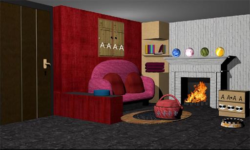 3D Room Escape-Puzzle Livingroom 4  screenshots 1