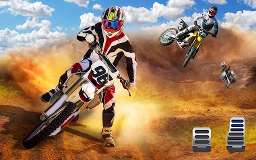Motocross Dirt Bike Stunt Racing Offroad Bike Game apktram screenshots 1