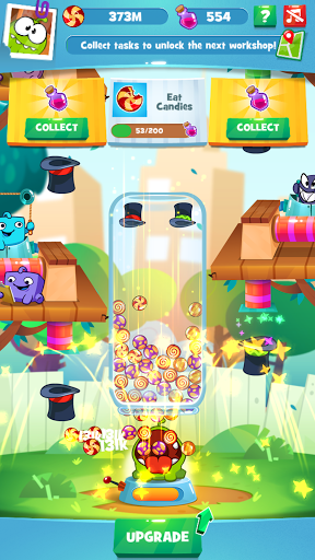 Om Nom Idle Candy Factory modavailable screenshots 2