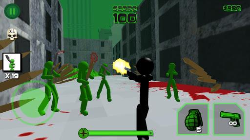 Stickman Zombie Shooting 3D 1.08 screenshots 1