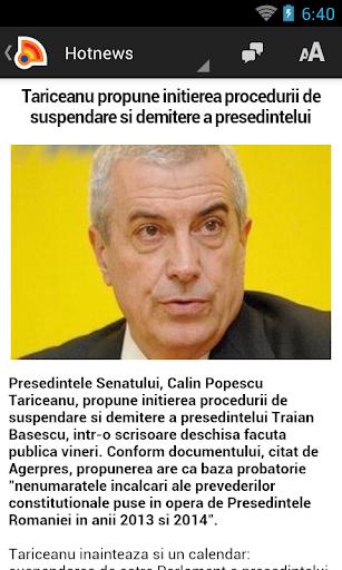 Stiri din Romania 4.9.0 Screenshots 2