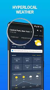 1Weather :Weather Forecast, Weather Radar & Alerts Screenshot