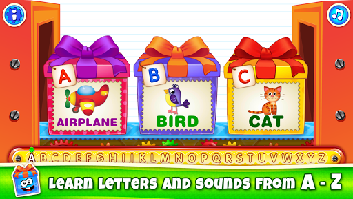 Baby ABC in box! Kids alphabet games for toddlers! 3.3.3.2 screenshots 1