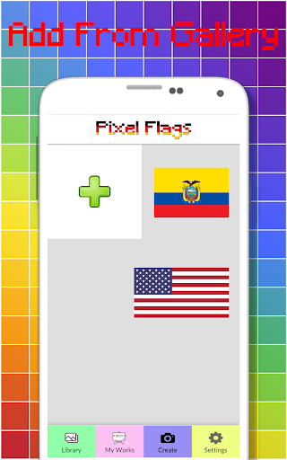 Flags Color By Number - Pixel Art  screenshots 8