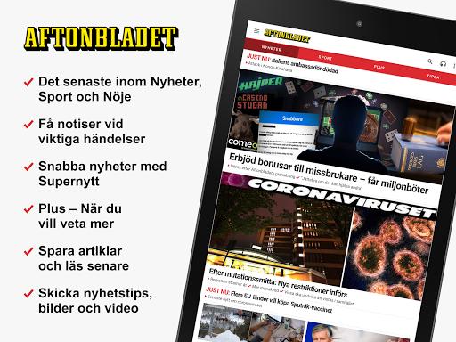 Aftonbladet Nyheter apktram screenshots 9