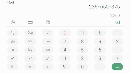 Download Samsung Calculator mod apk 2