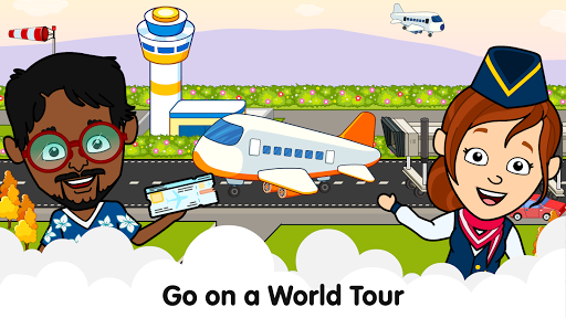 My Airport Town: Kids City Airplane Games for Free 1.6.1 Screenshots 1