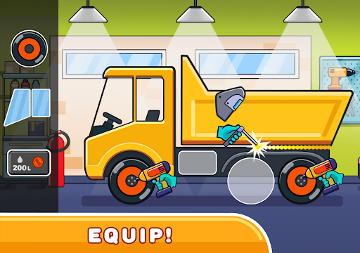 Car games for kids: building and hill racing 0.1.9 screenshots 12